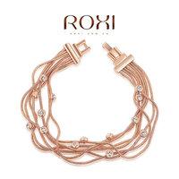 Roxi jewelry austria crystal rose gold wire white bracelet    2060007750