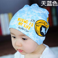 Christmas Gift For Baby Boys, Cute Earphone Pattern kids Baby Hats Cotton Winter Children Beanie Caps
