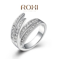 Roxi jewelry austria crystal gold plated ring wings ring   2010006365