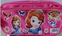 2014 Frozen Stationery Pencil Bag Blue free Shipping!hello Kitty Sofia Hot Sell ,pencil Box New Frozen Shcool Kid's Cartoon Gift