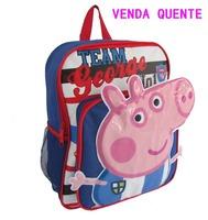 Children School Bag Peppa Pig Cartoon Animal Backpack Baby Schoolbag Wholesale Retail