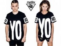 2014 Hiphop rap street MISBHV Unisex Phuck Yo Hood HBA KTZ g-dragon men women Short sleeve cotton t shirts