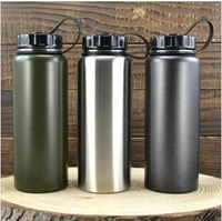 hot selling high quality stainless steel water bottles1000ml  travel and camoing equipments