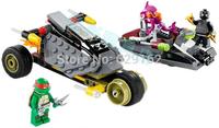 2014 Newest Bela 10208 Teenage Mutant Ninja Turtles Building Blocks Sewer Chase Education 3 Figures DIY Bricks Toys For Children