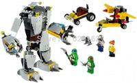 2014 Newest Bela 10209 Teenage Mutant Ninja Turtles Building Blocks Furious Baxter Machine 5 Figures DIY Brick Toys Dor Children