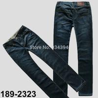 New 2014 Fashion Famous Summer Spring Brand Designer Men Jeans Causal Denim Pants Streetwear Black Plus Size 29-40 Free Shipping