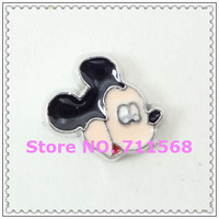 New Mickey Floating Charms Mickey Pendant Charm For Glass Floating Locket Accessories