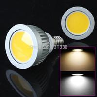 5W COB LED Light Bulb E14 550 lumens led Spotlight White/Warm White