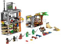 2014 New Design! Bela 10210 499Pcs+5 Doll Figures Educational & Learning Block Sets,Teenage Mutant Turtles Ninja Toys For Child