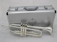 FREE SHIPING EMS  Suzuki silver trumpet trumpet professional trumpet 01
