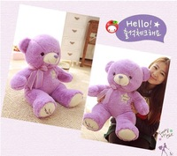 Wholesale Lavender Teddy Bear plush toy 80cm pokemon  Valentine's Day gift  Purple Factory outlets plush toy doll