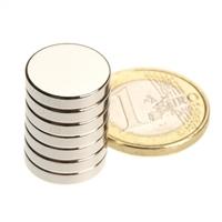 10PCS 15MM X 3MM disc powerful magnet craft magnet neodymium  rare earth neodymium permanent strong magnet n50 n52  holds 2.9 kg