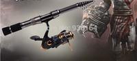 Free shipping 2.1m telescopic fishing rod carbon fibre fishing pole superhard sea fishing rod spinning rods