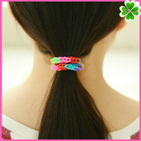 Wholesale Elastic Hair Bands,Rainbow Elastic Bands for The children's,DIY Woven elastic rainbow bracelets
