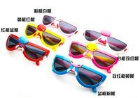 2014 new cartoon cute children's sunglasses glasses Beetle folding children's glasses