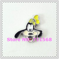 Goofy Floating Charms New Mickey Pendant Charm For Glass Floating Locket Accessories