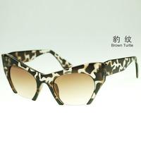2014 Half-Frame Cat Eye Women Sunglasses10PC Beautiful Shades! Cateyes Vintage Inspired Mod Chic High Pointed Sunglasses eyewear