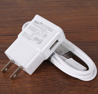 50pcs cable +50 pcs cable  BY DHL  2A  OEM  USA us  wall Charger adapter For samsung S3 s4 S5 NOTE 1 2 I9600