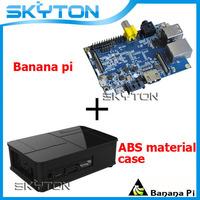 Original Banana Pi + Black Fashion ABS Material Case Box