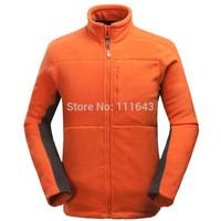 Brand Men's Winter Polyester Fleece Jacket Warm Coat outdoors Sports Fleece coat & Softshell Jacket + Free Shipping
