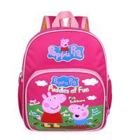 Peppa Pig Bag Children School Bags Printing Cartoon Schoolbag Baby Kids Backpack For Girls Boys New 2014 Bolsa Mochila Infantil