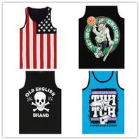 BRAND mens tank tops shirt HIPHOP tank tops ROCK BOY'S vest singlet STREETWEAR