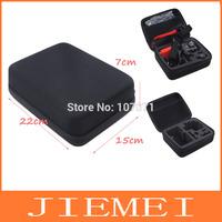 Black Middle Size Handbag GoPro Portable Collection Box Outdoor Storage Bag Case Cover for camera Go pro HD Hero3 Hero2 Hero 3