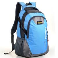 New 2014 shoulder bags color block lovers computer backpack middle school students school bag travel bag schoolbag for boys
