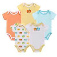 5 pieces/ lot Original Carters Clothing Sets New 2014 Baby Clothing Carters Girls Boys Bodysuits Bebe Infantil Newborn Bebe Wear