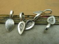 30pcs 8x22mm Antique silver  The Hanging head  Charm Pendant C4853