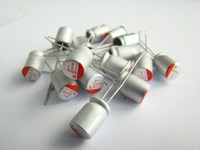 Free shipping, 100pcs/lot 16v 100uf 6x8 Solid capacitor brand new original