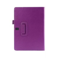 Free Shipping ! 2 Folio Flip Smart Tablet Stand Back Holder Litchi Leather Cover Case For Samsung Galaxy Tab S 10.5 Purple
