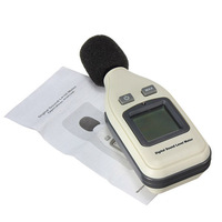 High quality GM1351 Digital Sound Level Meter Convenient Decibel Logger 30-130dB LCD Noise Level Meter Family Tools