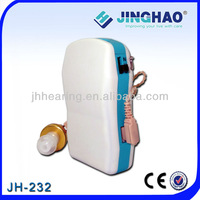 OEM Low Distortion Pocket Hearing Aids Battery AAA Ear Tips Comfortable Wearing New Brand Voice Amplifier Sound For Deaf JH-232