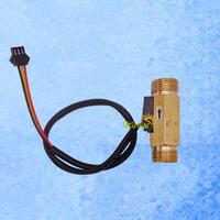 "USC-HS21TH Brass Hall Effect Flow Sensor for water flow rate measurement 1-30 BSP1/2"" 8pcs a lot"