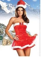 Bra princess dress Christmas costume  Christmas game uniforms temptation of women Freeshipping