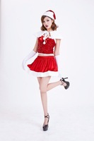 Christmas festive sequined prom dress Christmas costume play clothes DS stage uniforms Freeshipping