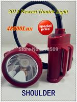 2014 new 5W cree LED 48000Lx free shipping LED hunting lamp hunter light coon hunting light 10pcs/lot