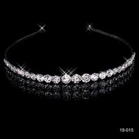 In Stock Elegant Hair Accessories For Women 2014 Hairbands Crystal Wedding Crown Wedding Hair Accessories
