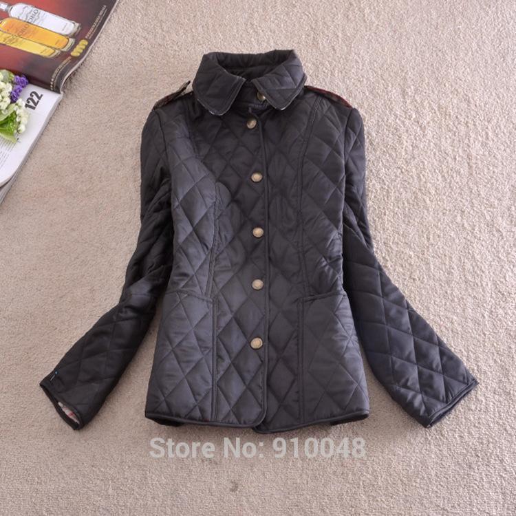 Argyll Jacket Pattern New 2014 Winter British Style Women Slim Argyle Jacket Coat Desigual