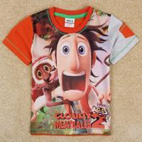 2014 cartoon children t shirt boys clothes for summer brand kids t-shirt short boy's t shirt nova roupa infantil C5105D