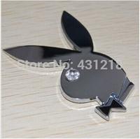 1PC NEW Metal Meterial Auto Car Sticker 3D Decal 3M Rabbit Emblem