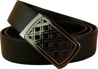 Men Genuine leather belt Cowskin Free belt Slide buckle Brand designer Cintos Cinturon 2 colors M168 New arrival