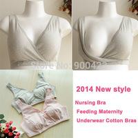 Nursing Bra Feeding Maternity Underwear Cotton Bras For Pregnant Women Lingerie Gravidas Breastfeeding 2014