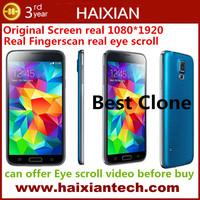 Best Original gorilla glass Screen G900 FHD 16MP mtk6592 Octa core 5.1 inch android phone heartcare eye scroll fingerprint