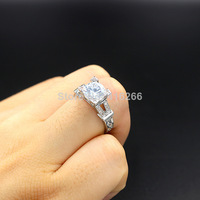 Free shipping 18K White Gold plated France Paris Eifel Tower Swiss Cubic Zirconia Crystal Fashion Jewelry Rings for Women