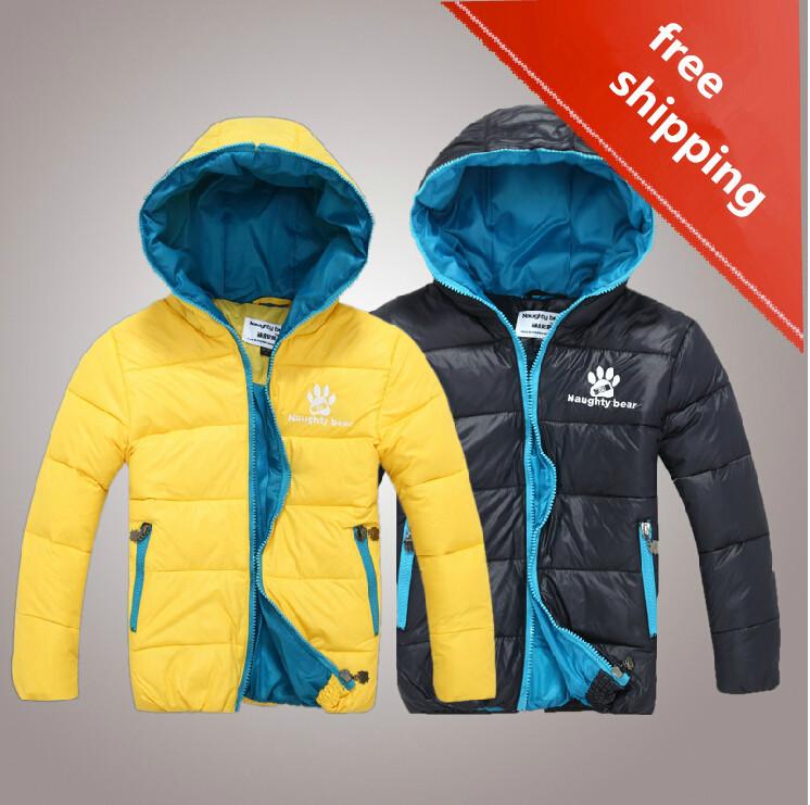 Style actif valeur garçon. vêtements mode pour enfants vestes taille 110-150 cms'il enfants manteau d'hiver de marque livraison gratuite
