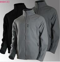 2014 new OMNI-HEAT Thermal Reflective Men's Heat Mode Fleece Jackets men's outdoors jacket for Climbing, hiking, travel 3 colors