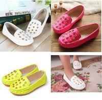 Leisure shoes girl doug rivet spring and autumn children's shoes fashion girls doug shoes