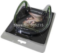 Hot Sale Retail Box Mini Sports Wireless Bluetooth V3.0+EDR Headset Headphone Earphone for Cell Phones iphone Laptop PC X 1